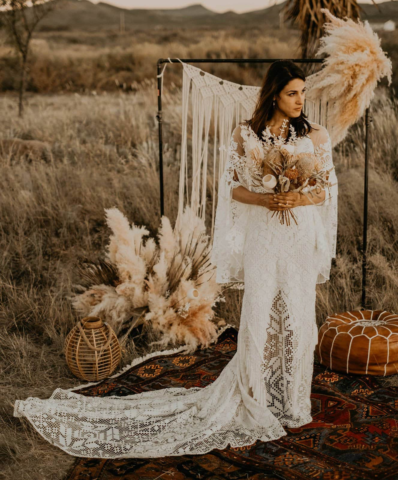 bohemian inspiration for brides.
