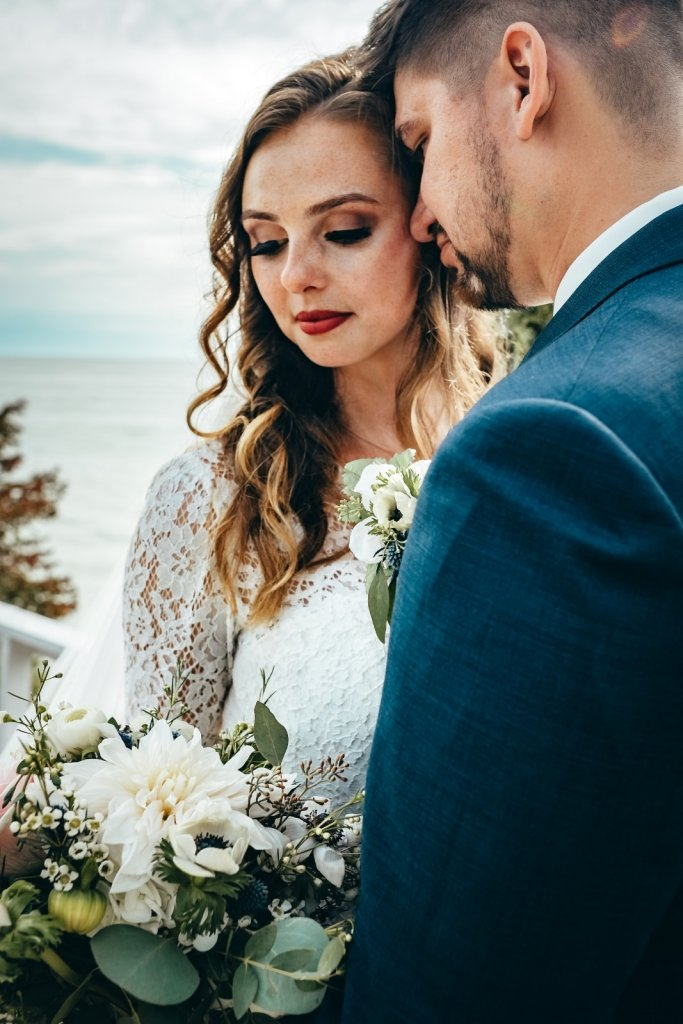 bridal portraits for elopement