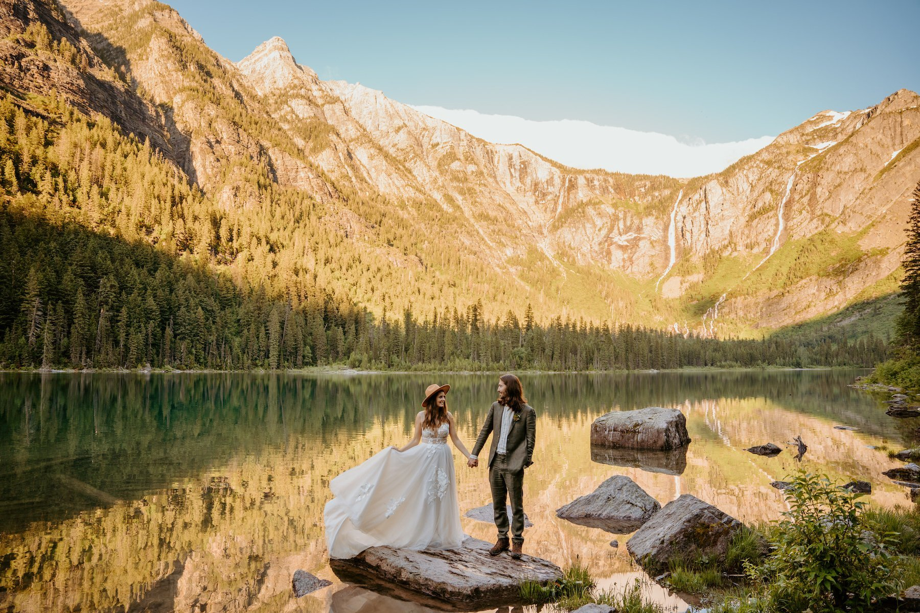 best places to elope in Montana