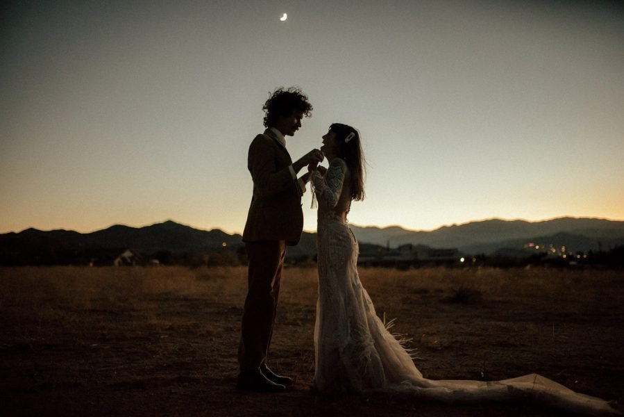 Katie and Lukes Southwest Joshua Tree Elopement