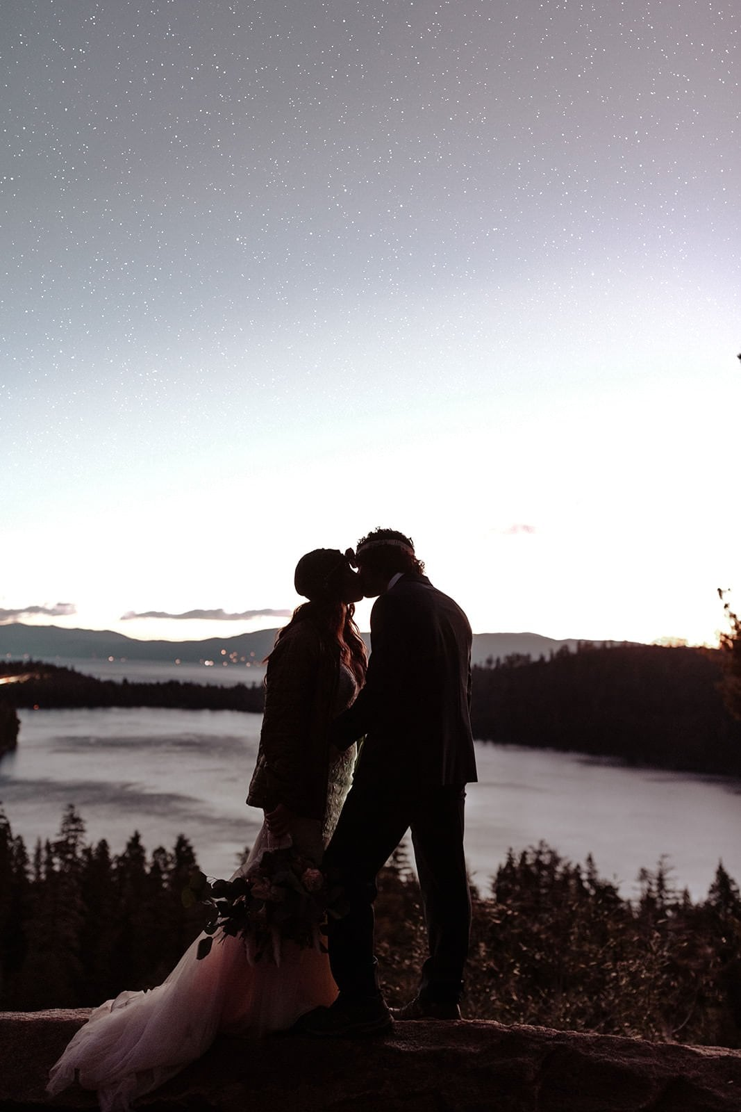 bridal portraits lake tahoe