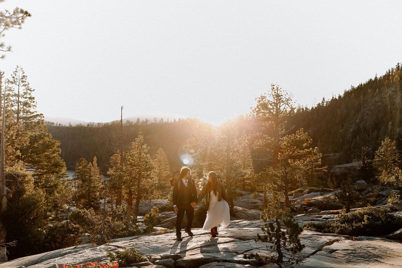 wedding hike