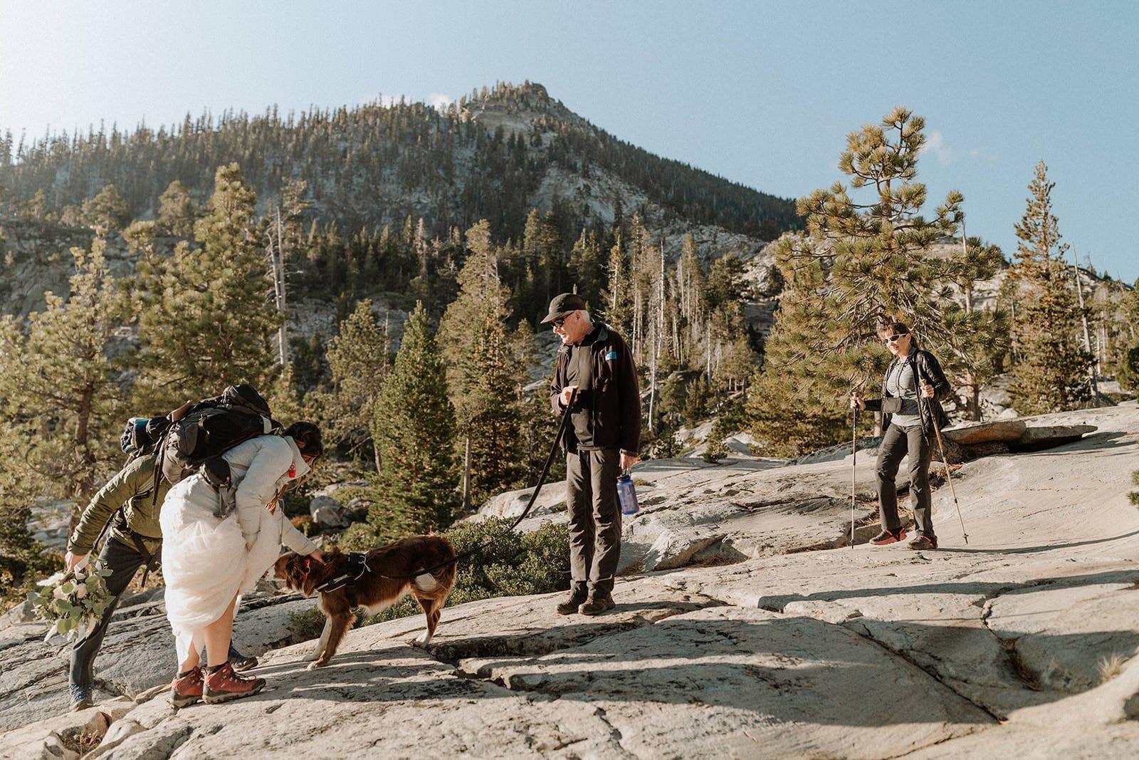 fun post wedding hike