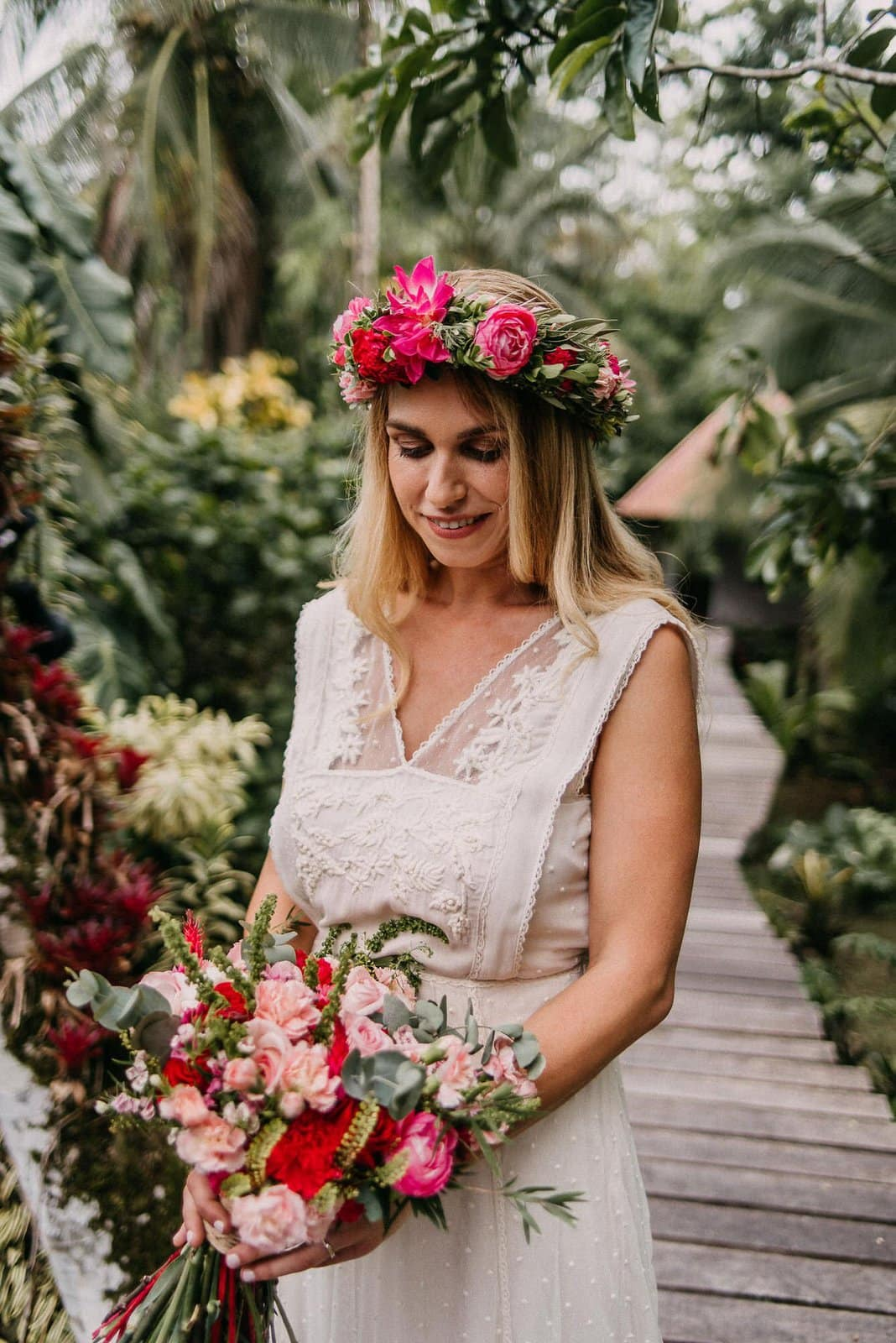bridal photography during costa rica wedding