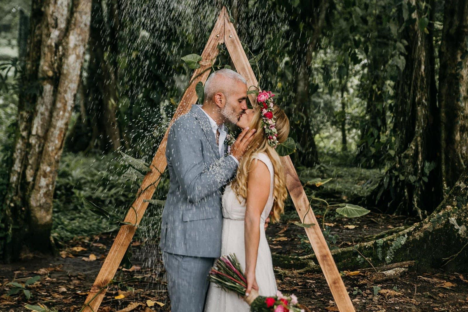 Costa rica wedding celebration