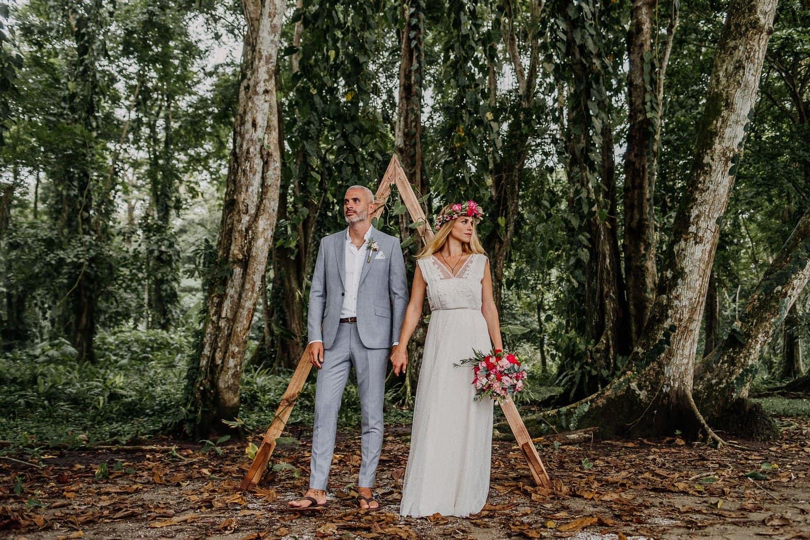wedding portraits in costa rica.