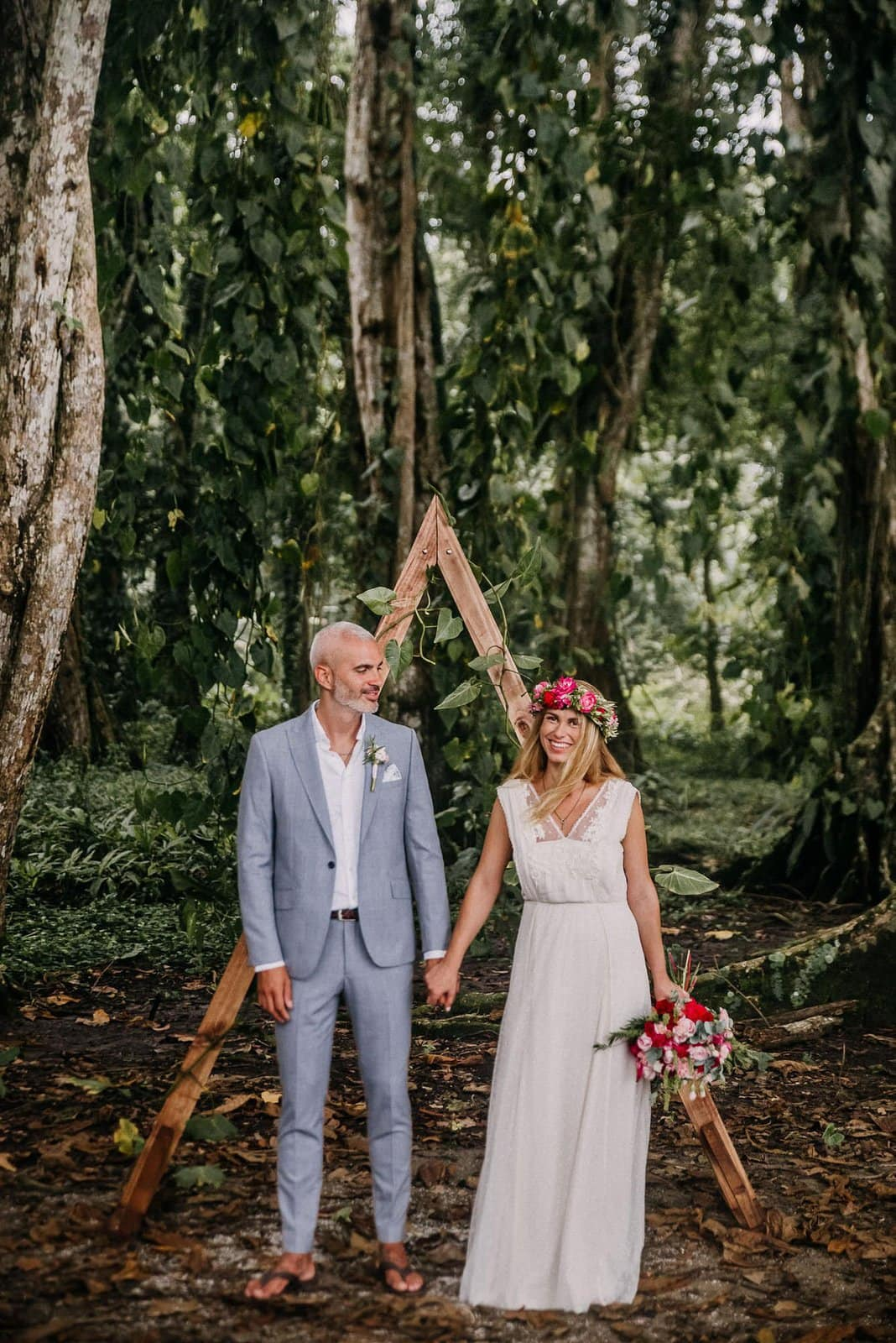 Arch for elopement.