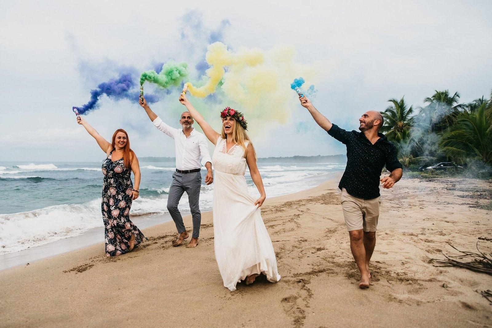 Costa Rica elopement wedding.