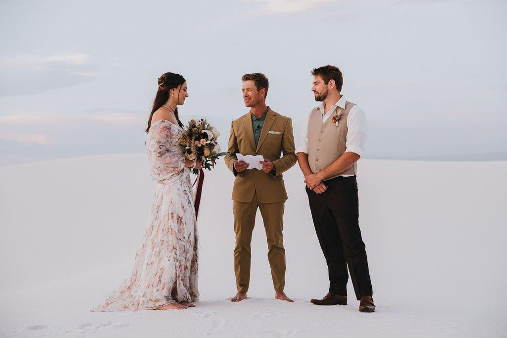 desert elopement vows.