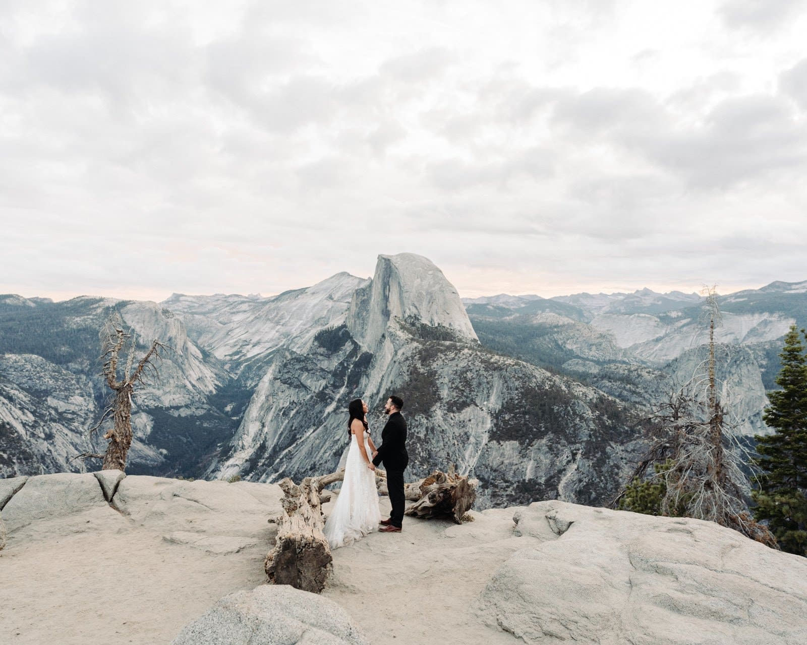 glacier point yosemite best places to elope