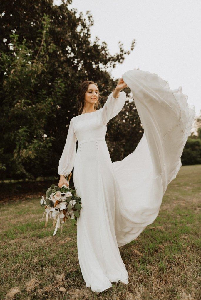 Elopement Dresses 16 Cheap Options For Brides Wandering Weddings