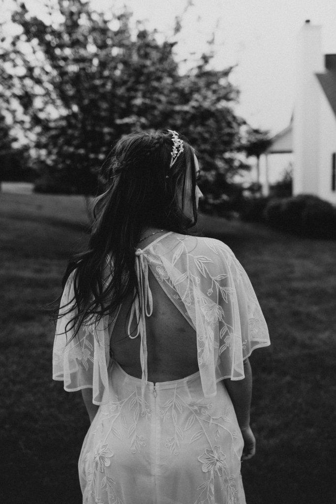 Asos bridal dress