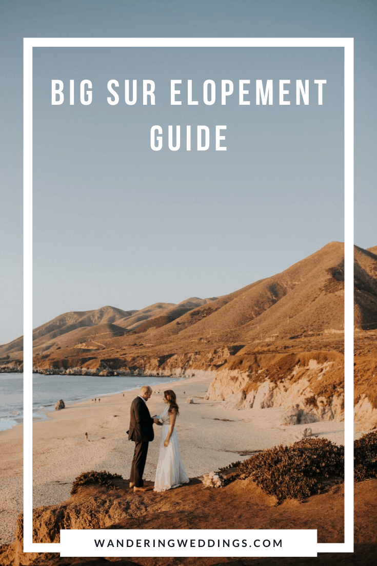 big sur elopement guide