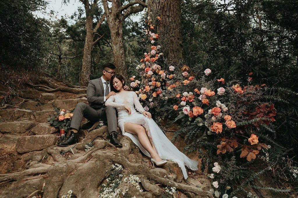elopement mountain wedding.