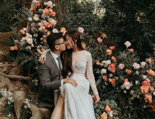 This Vietnam Wedding is an Elopement Mountain Love Story