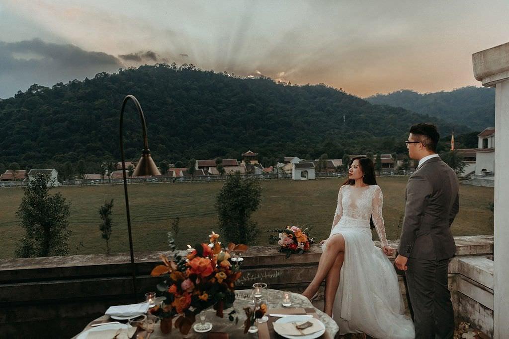 Vietnam elopement wedding
