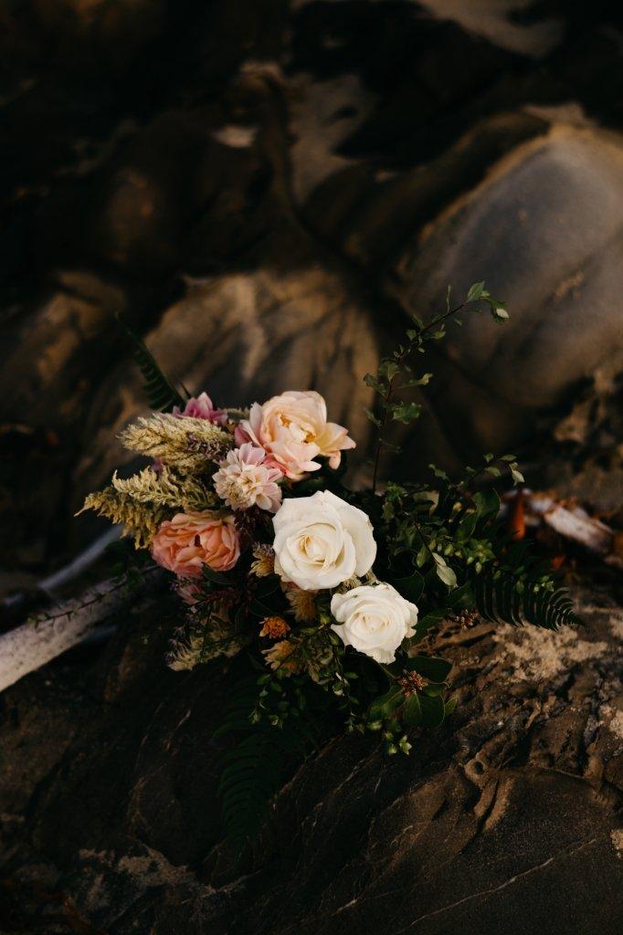 floral details in Big Sur, florals