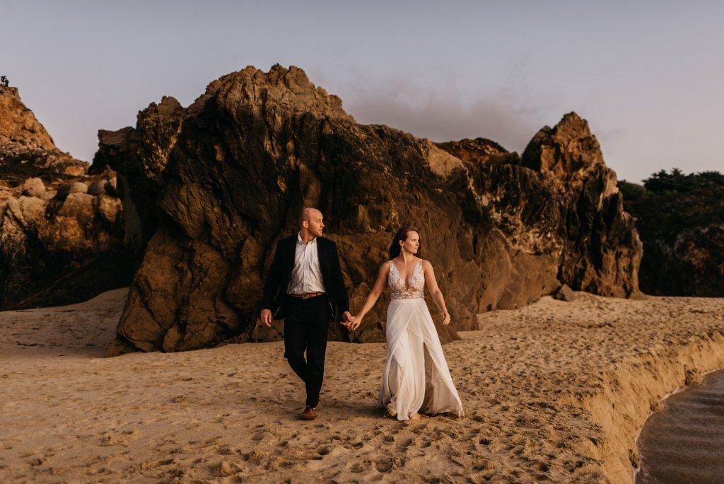 California elopement in Big Sur