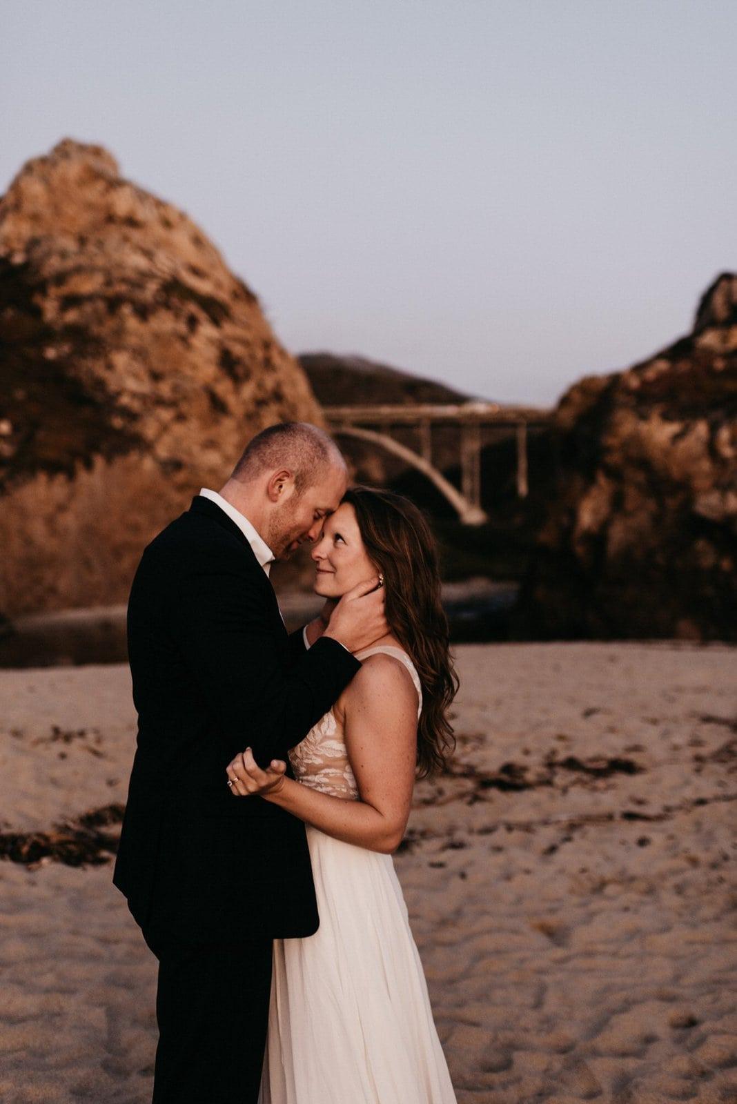 bridal portraits in California