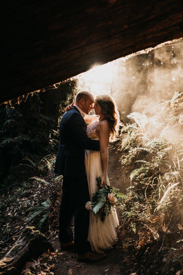 big sur elopement photos