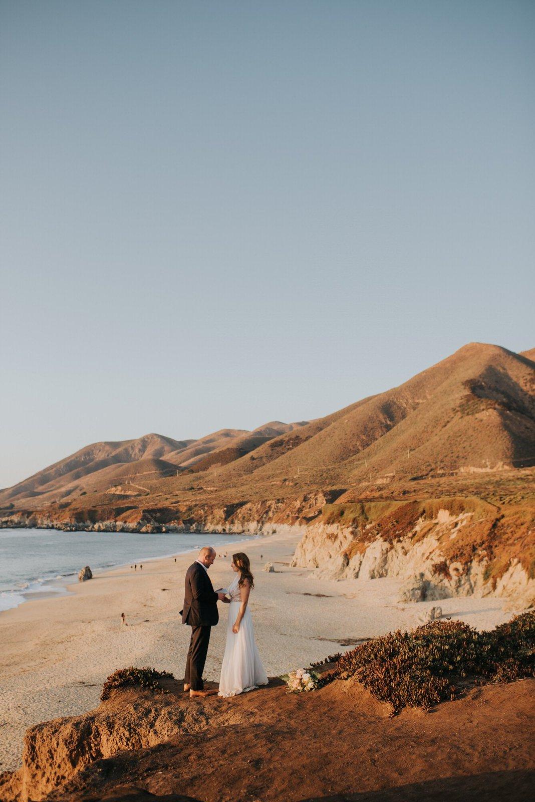 groom exchange vows