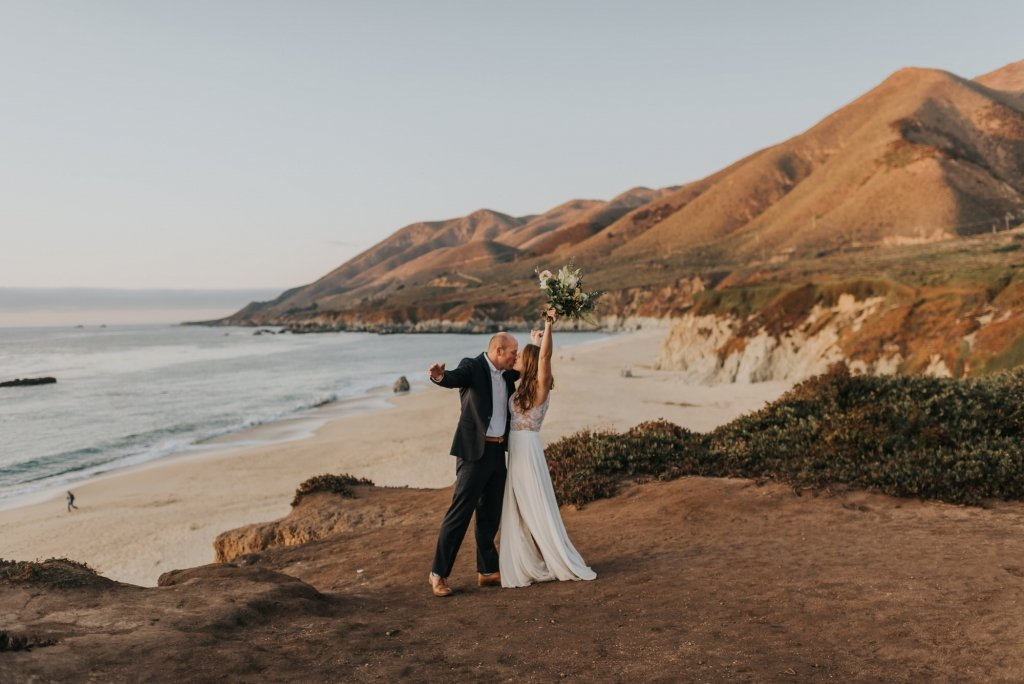 California elopement ceremony