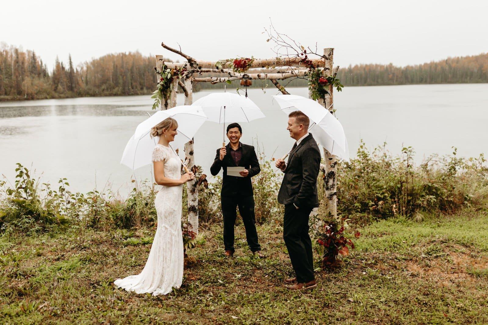 elopement ceremony photos