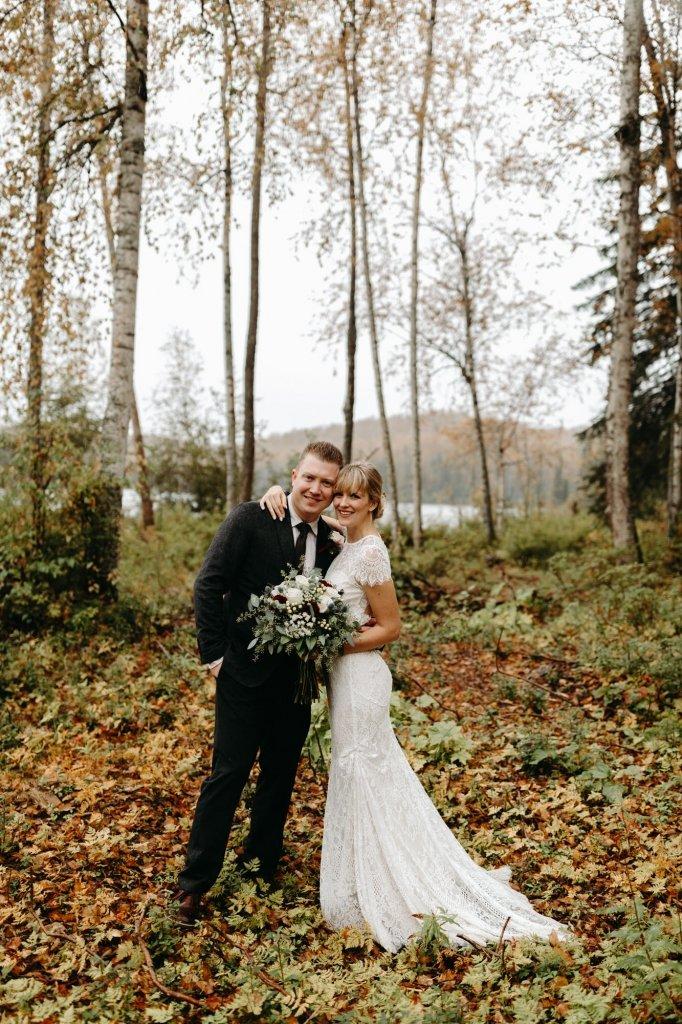 Alaska elopement portraits