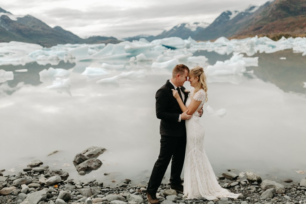 Alaska elopement photography