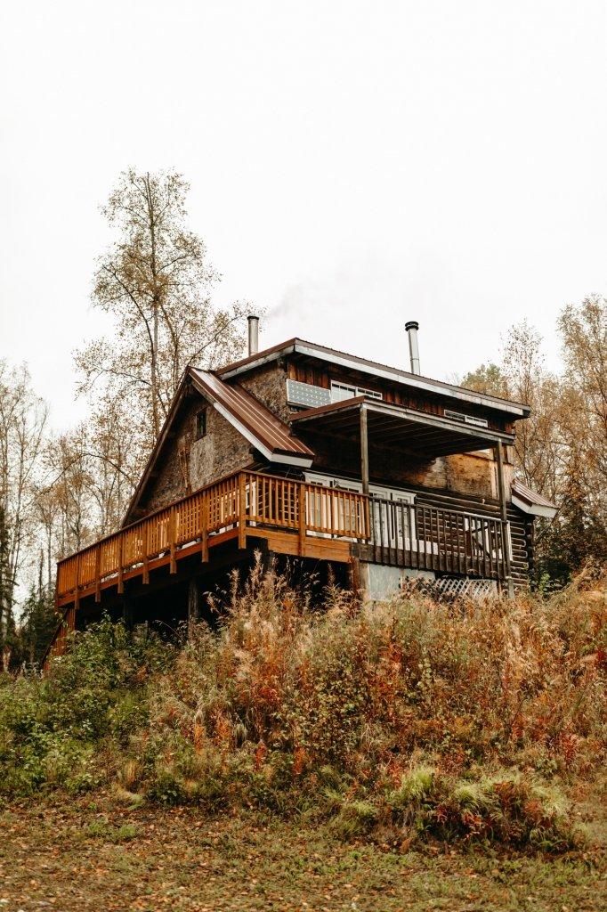 alaska elopement cabin