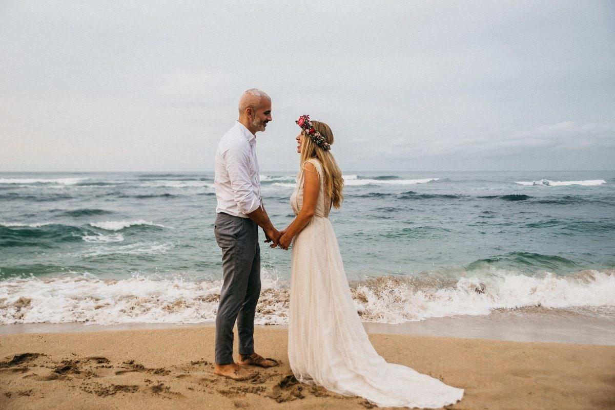 beach elopement in costa rica also the best honeymoon destinations