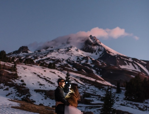 Sunrise Mountain Elopement on Mt. Hood