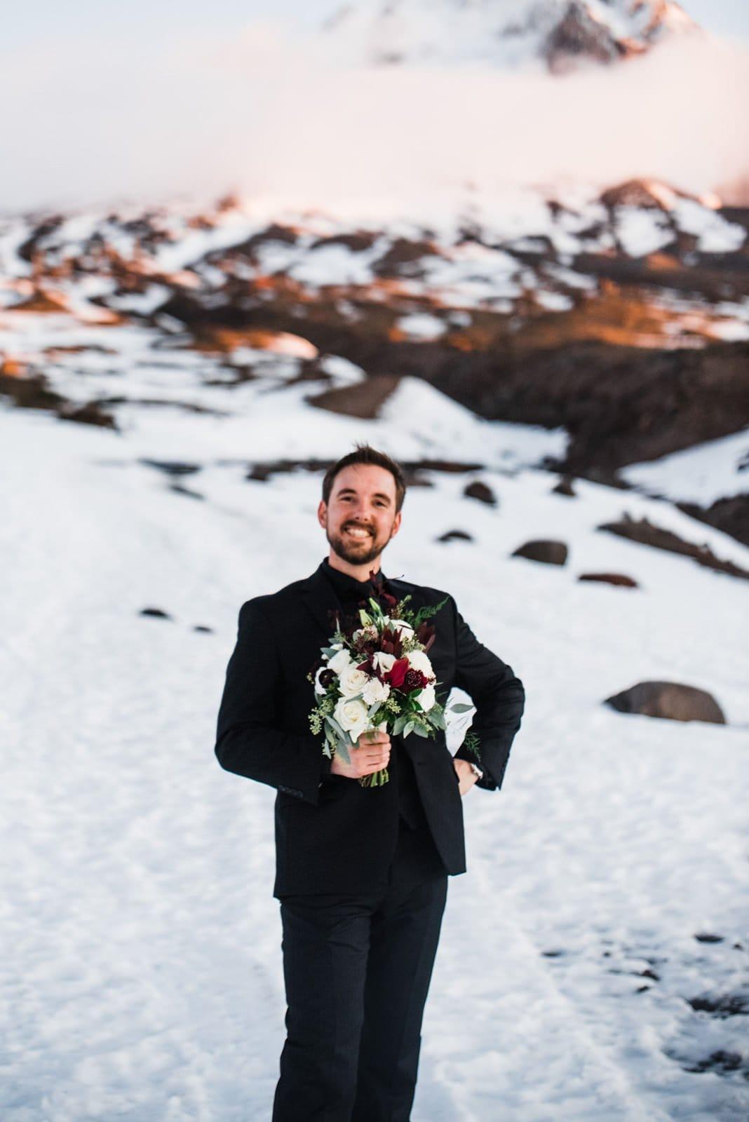 fun groom portraits