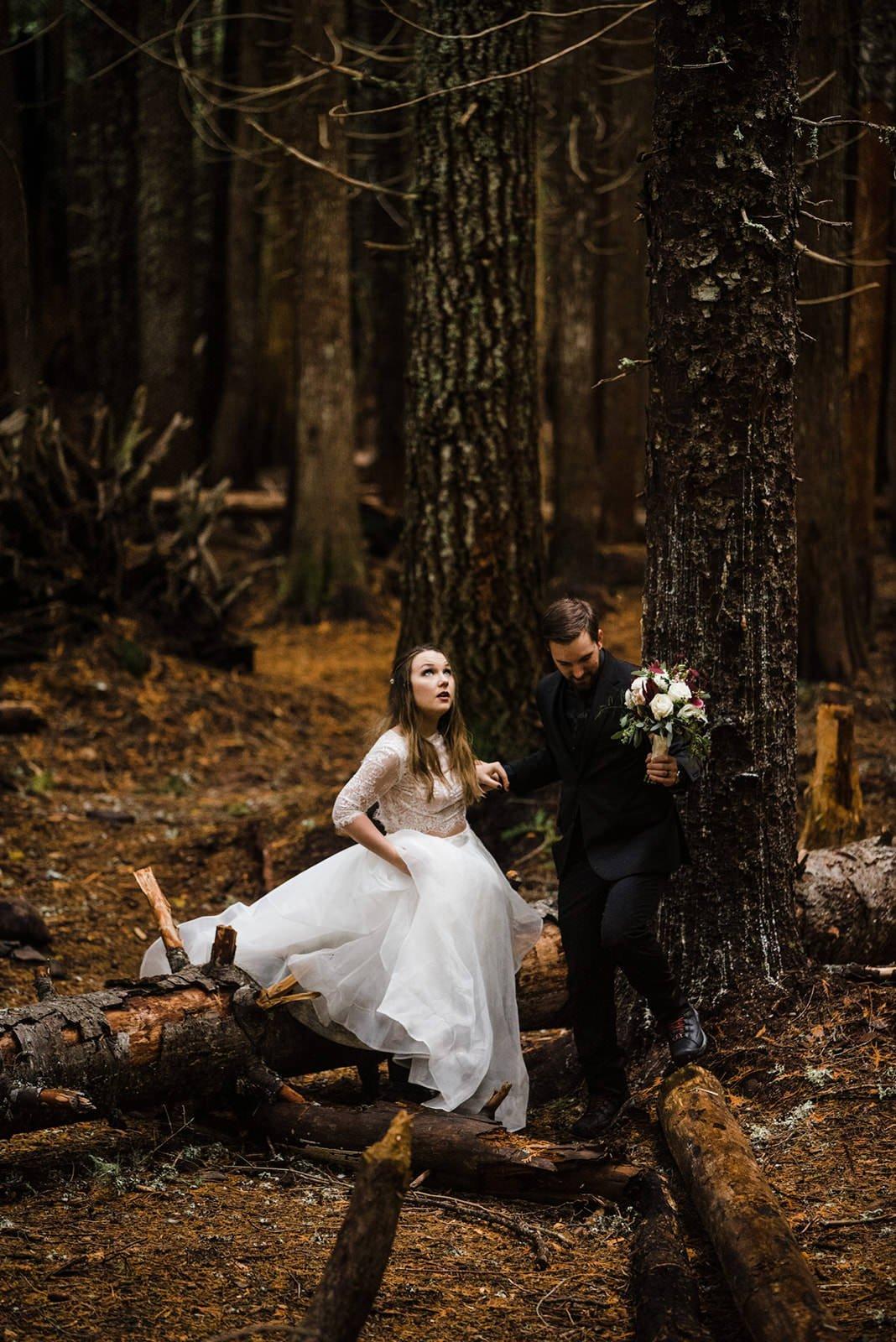 wedding photography at oregon