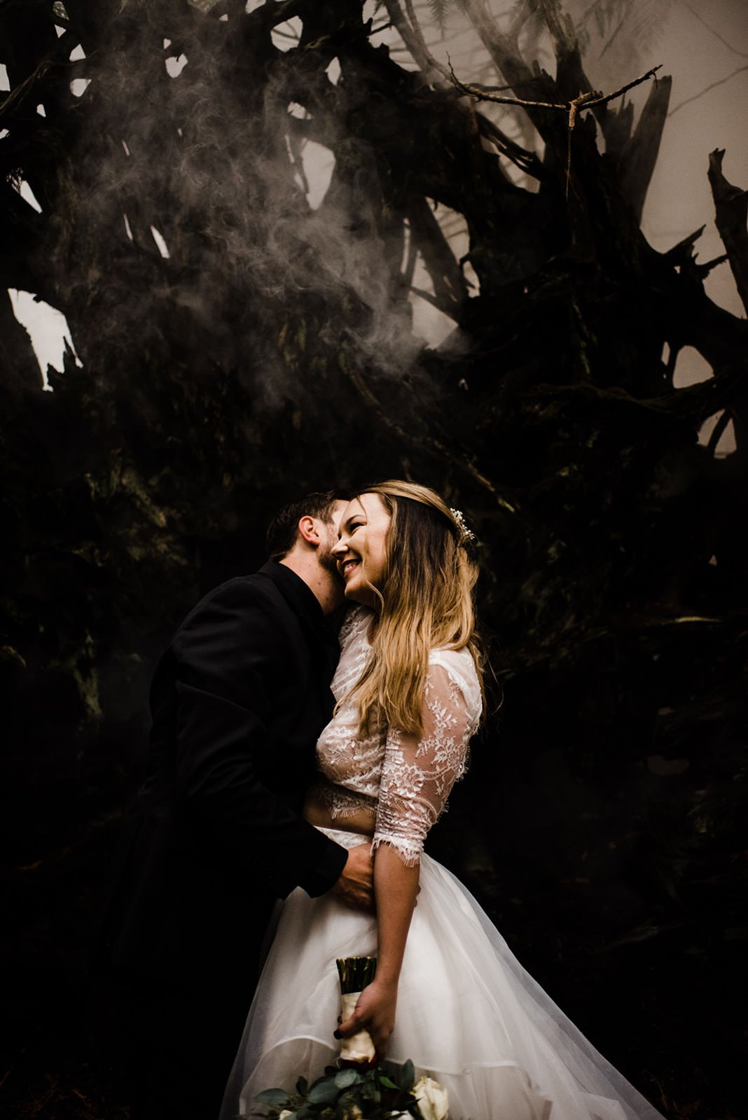 couple portraits for wedding