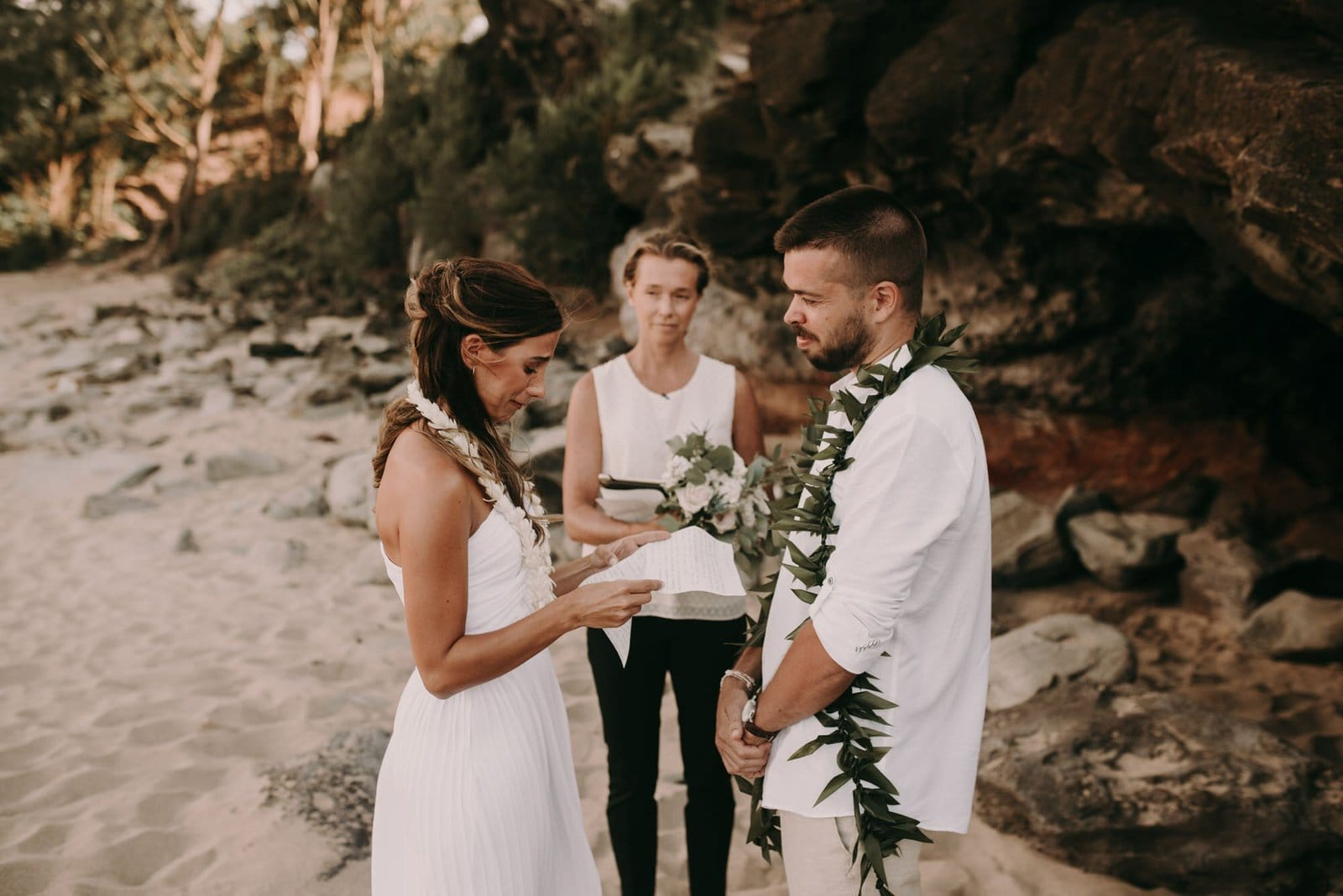 elopement vows