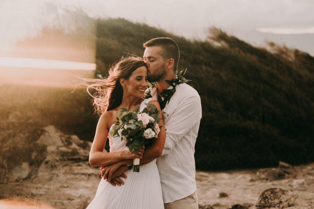 maui elopement wedding portraits
