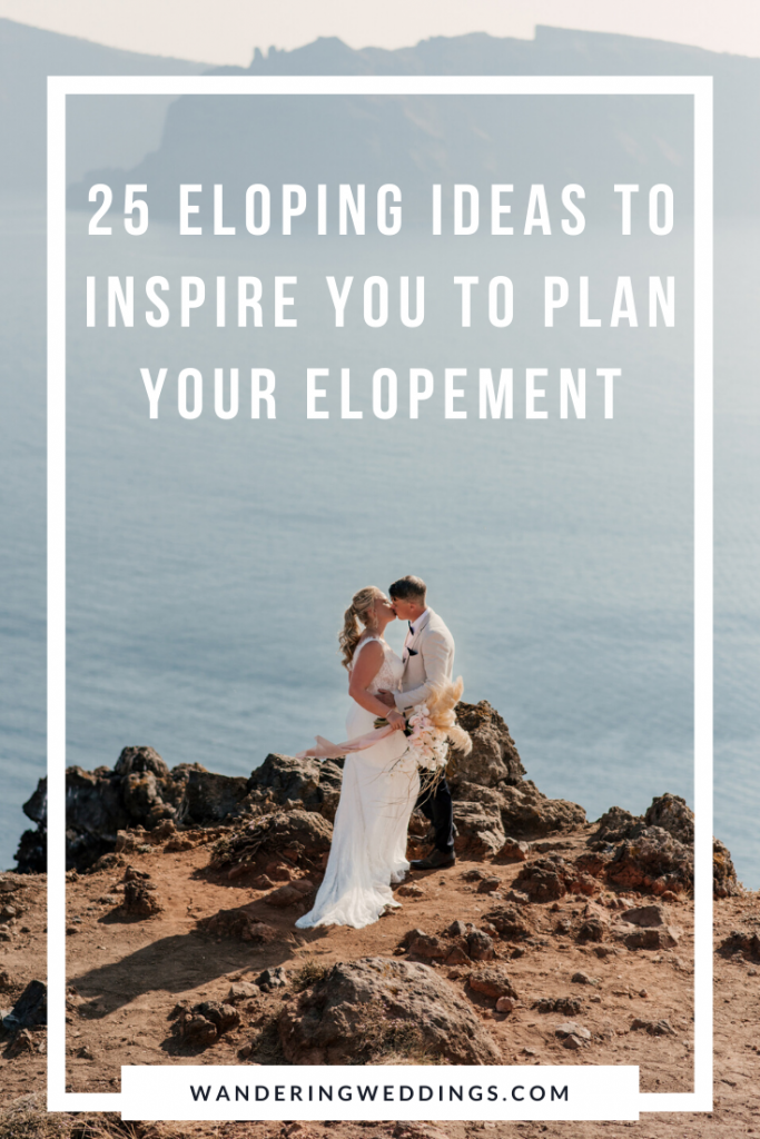 eloping ideas to inspire you
