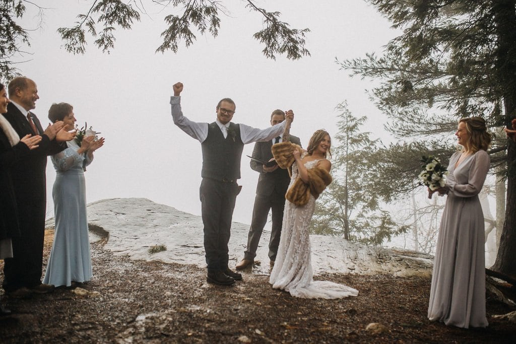 NY elopement at Minnewaska State Park.