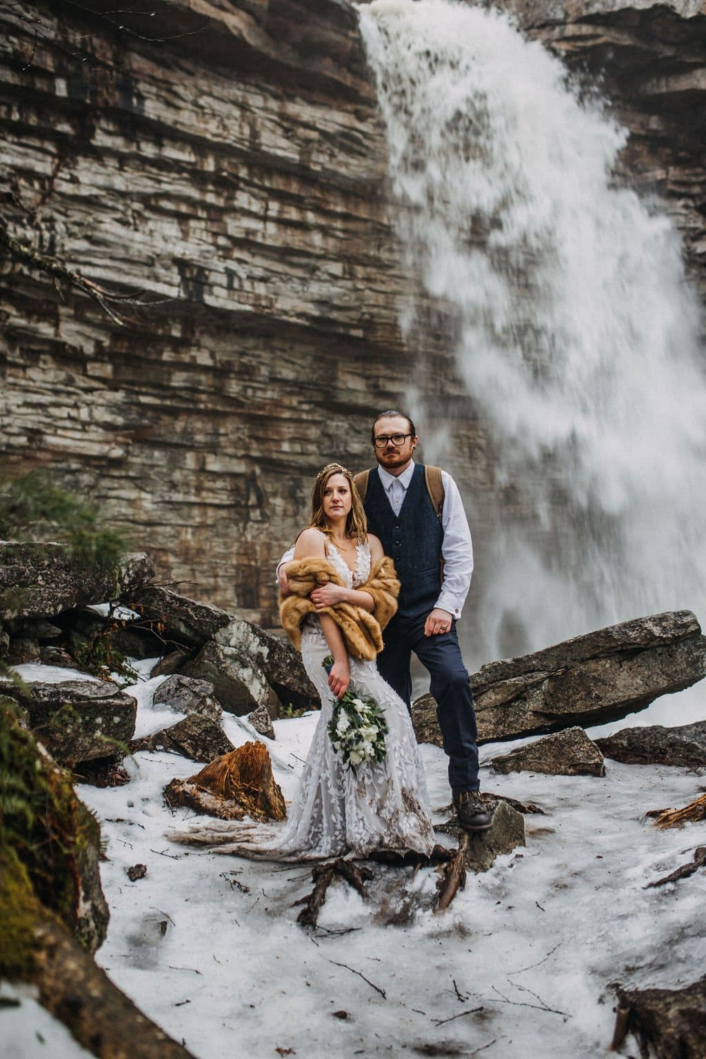 New York elopement at state park