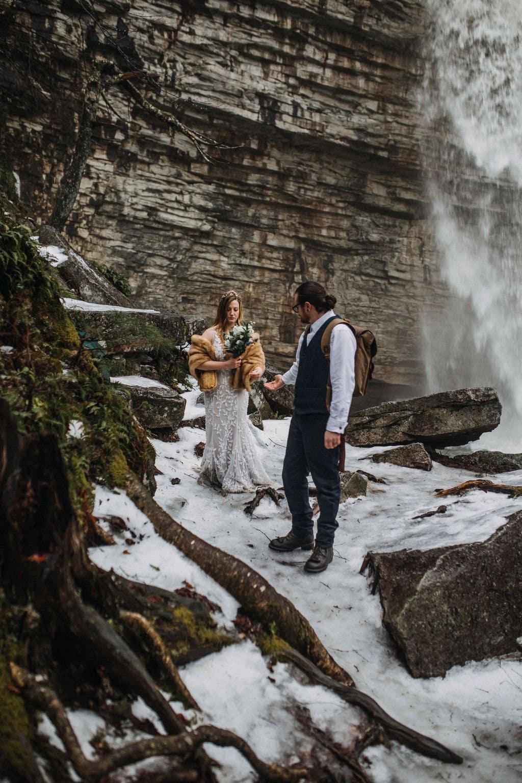 eloping in NY falls