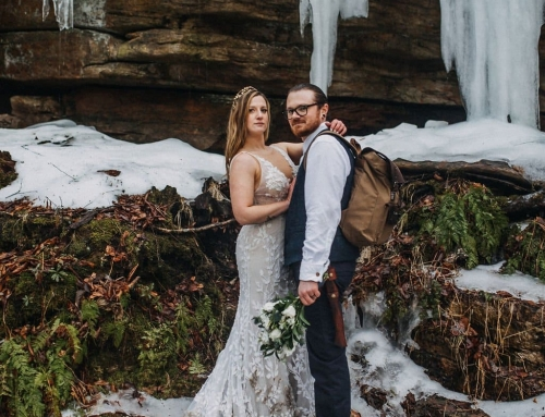 Mystical New York Elopement in the Woods