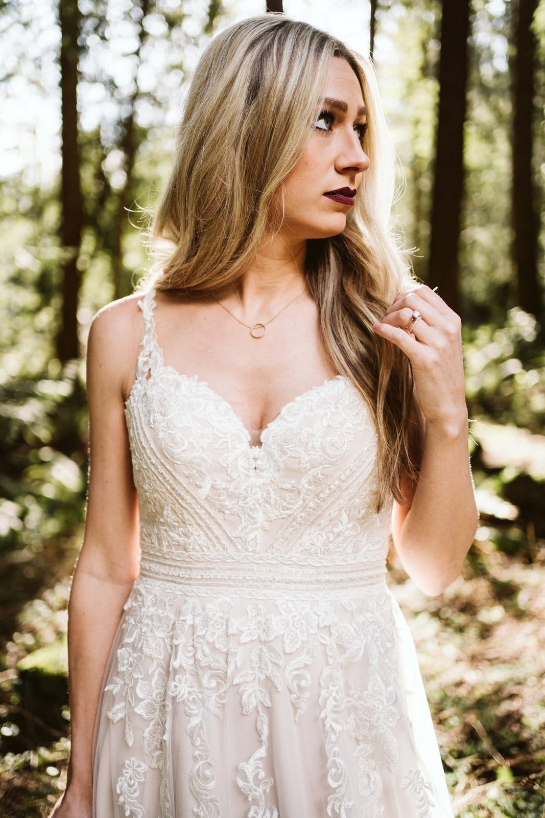 lace dress for wedding