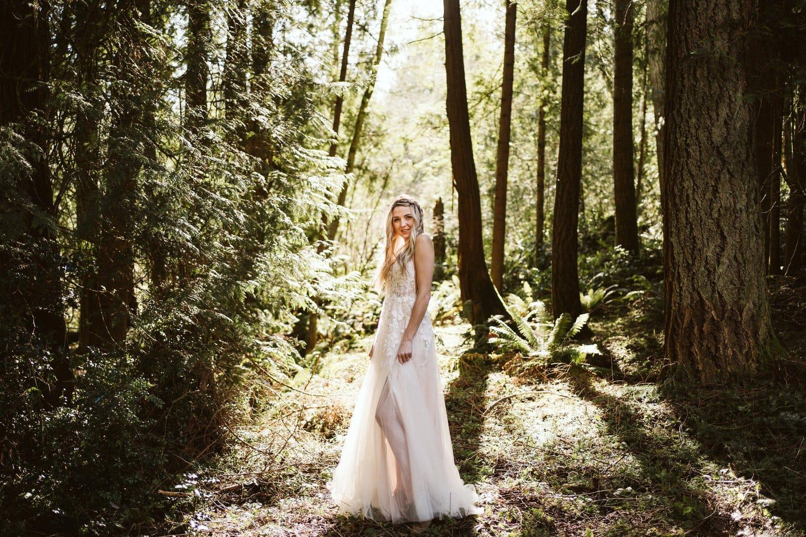 Essense of Australia D2840 style on bride