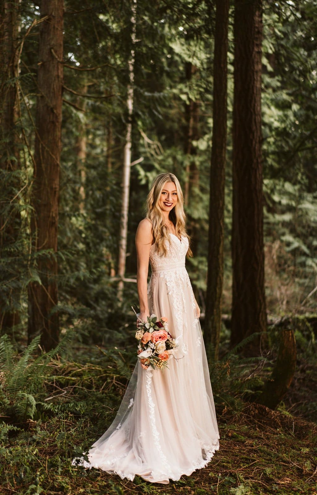 bridal photography for elopements