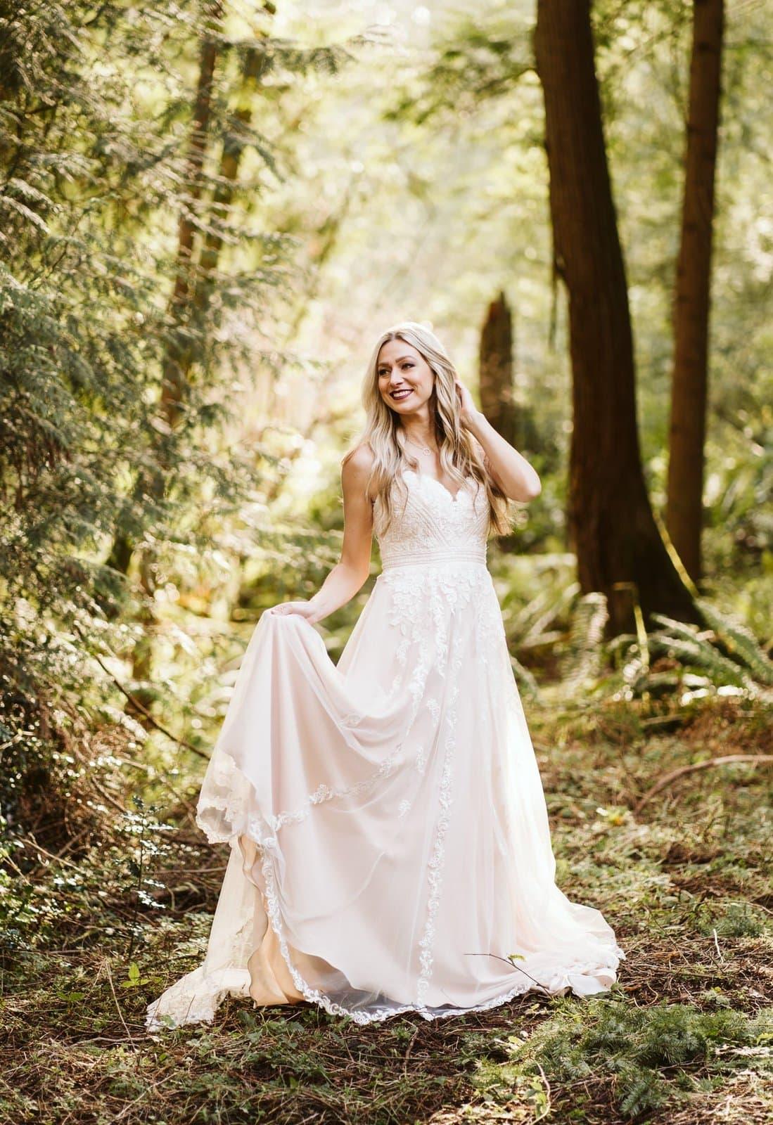 Essense of Australia D2782 wedding dress