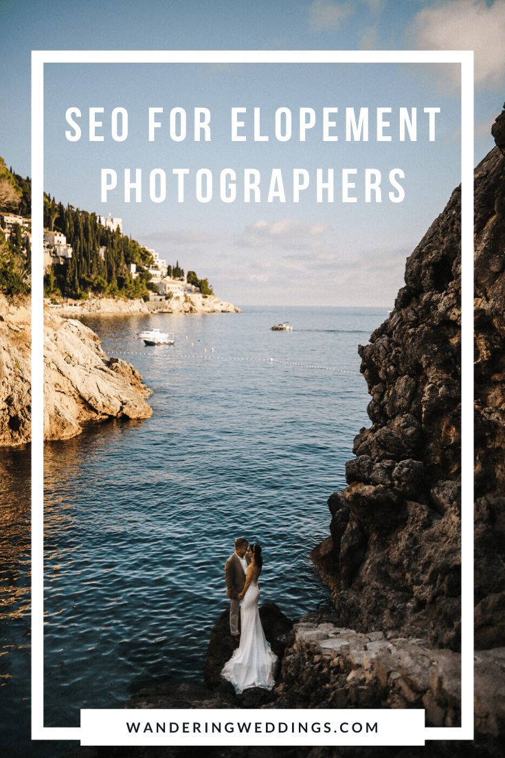 seo for elopement photographers