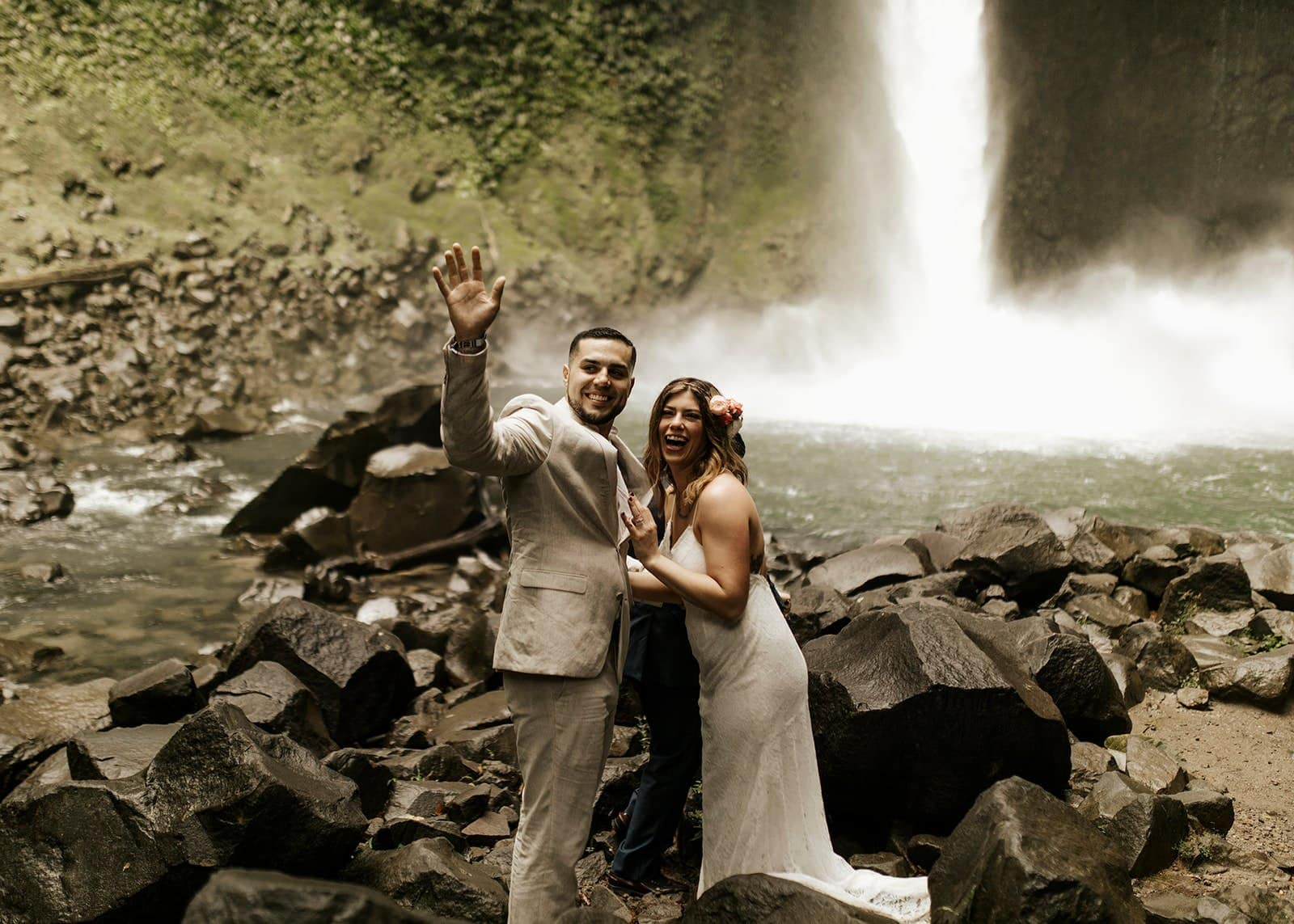 elopement photography at Costa Rica