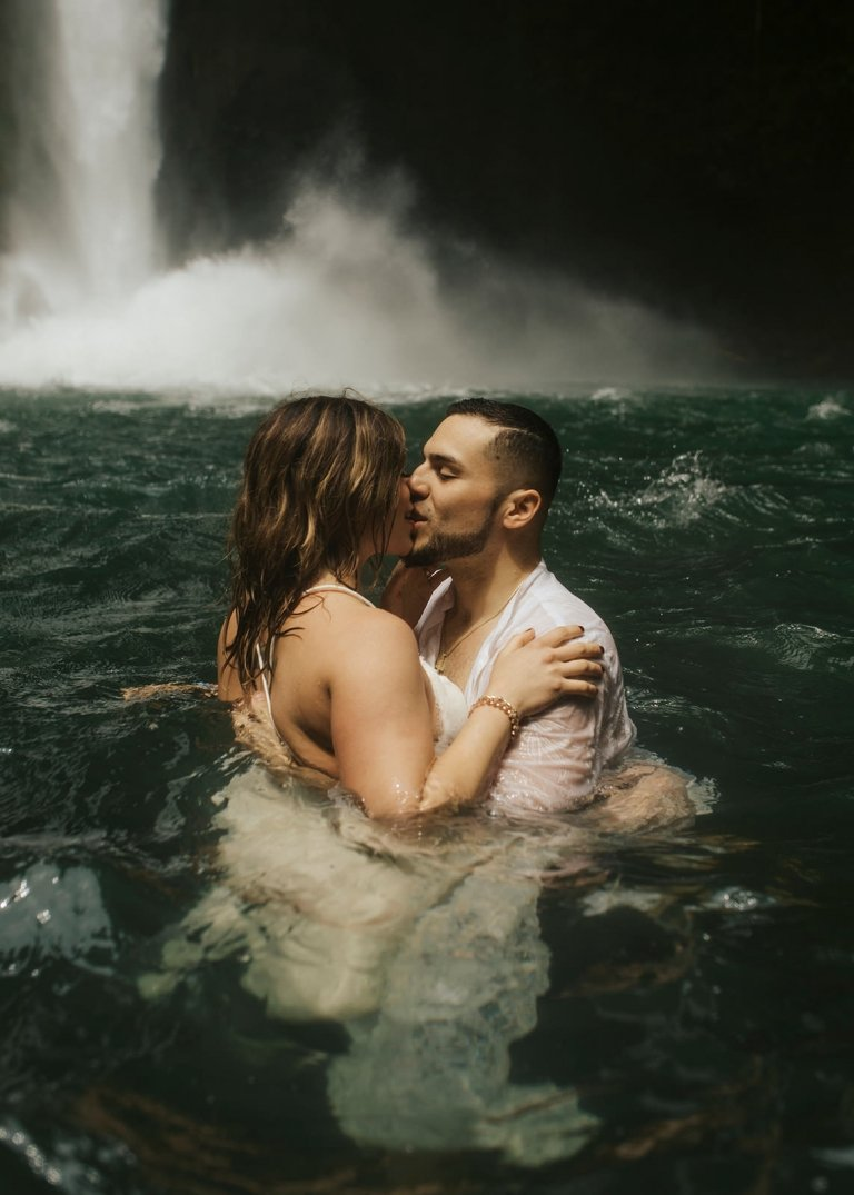 Costa Rica Waterfall Elopement