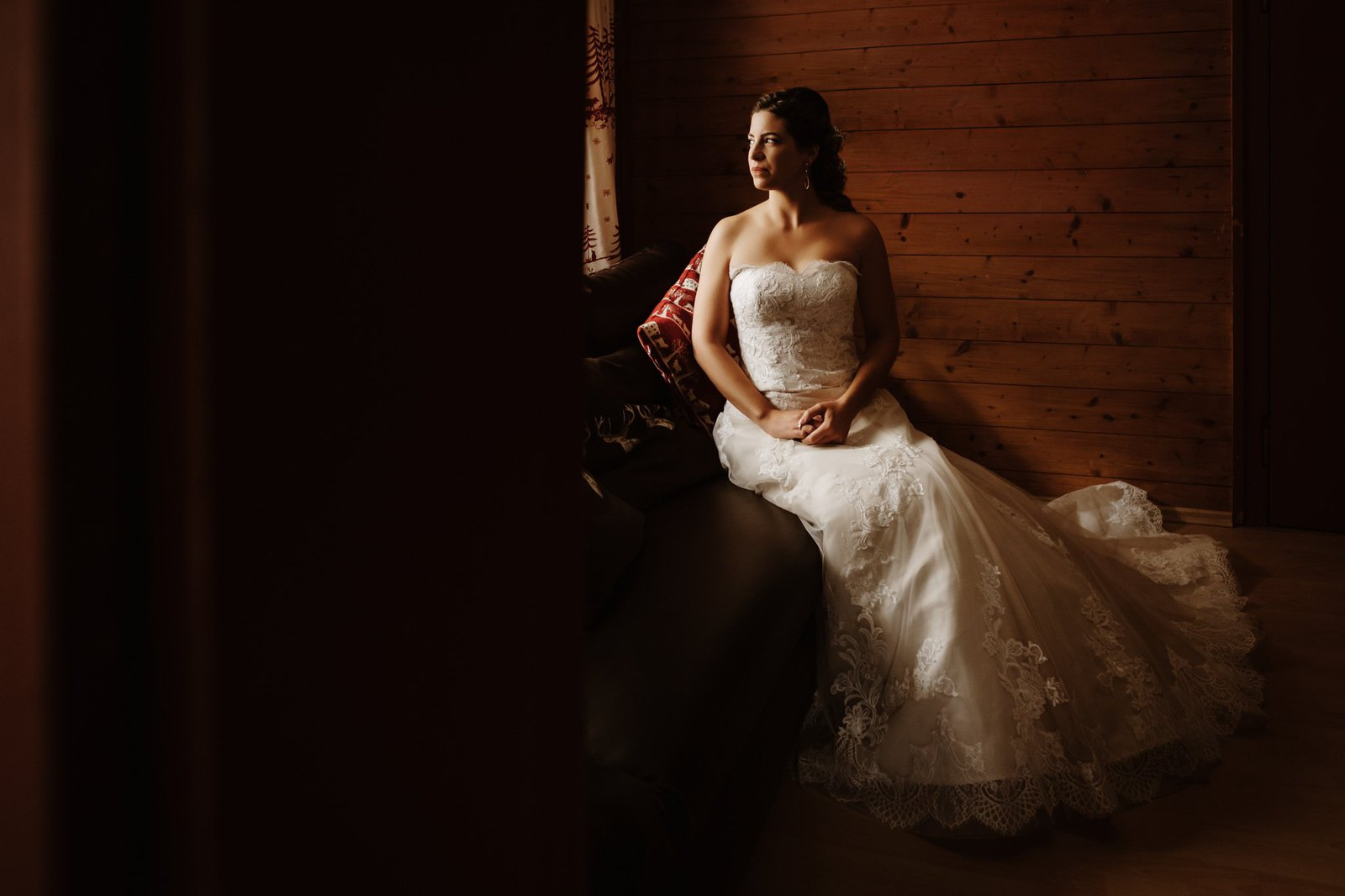 wedding portraits of bride